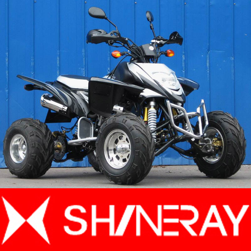 Shineray XY250STXE nero/argento
