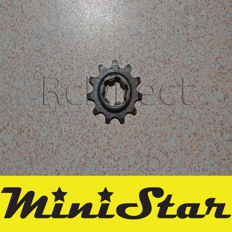 Sprocket 11 tooth for Minicross Pocket Bike