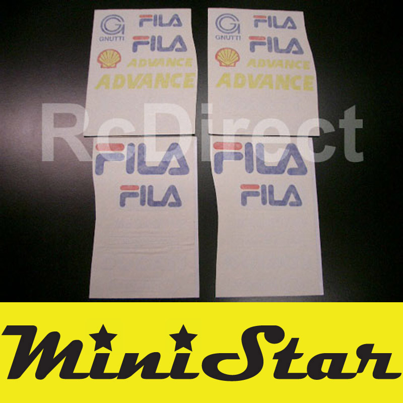 Adhesive FILA for Minibike (Pocket Bike)