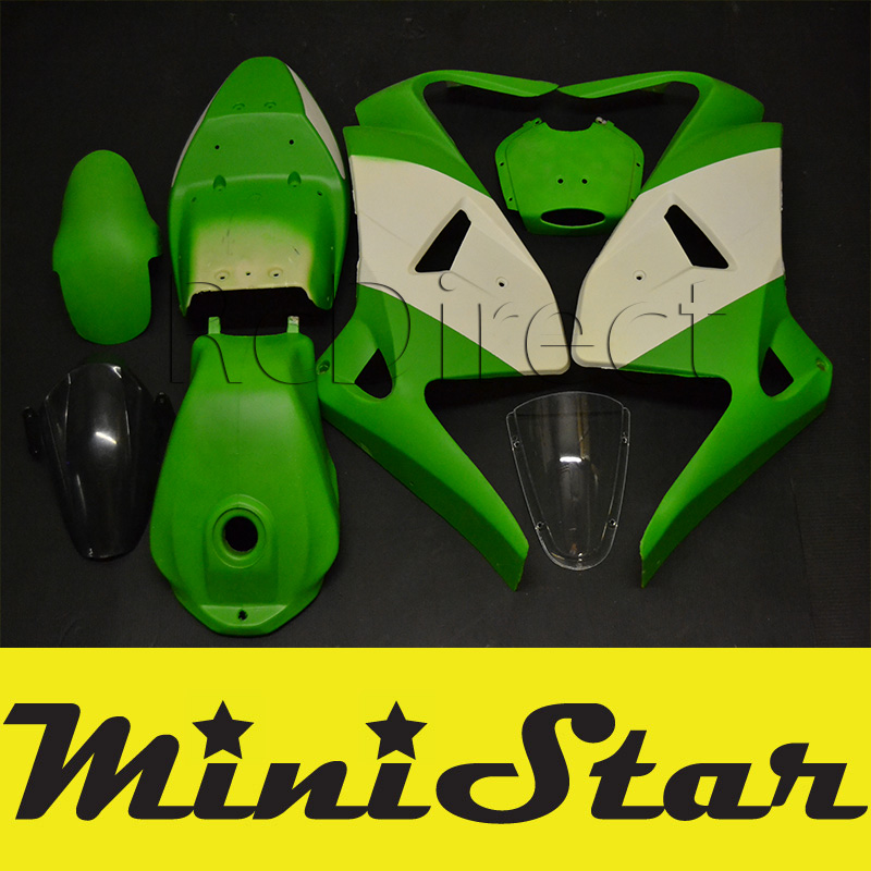 CARENAGE pour Minimoto Pocket Bike EVO - KAWASAKI