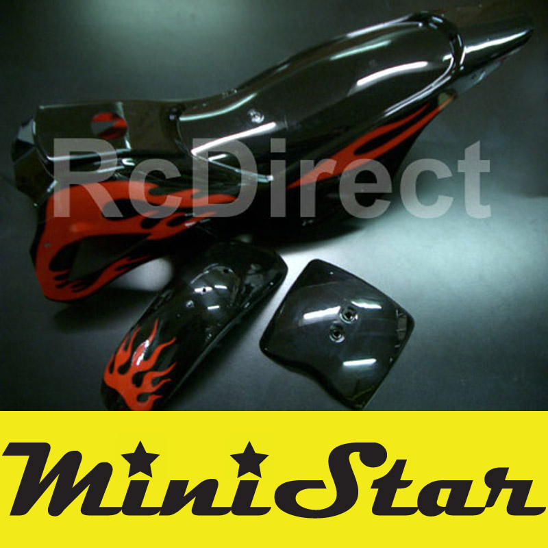 Body Minicross I BLACK / RED