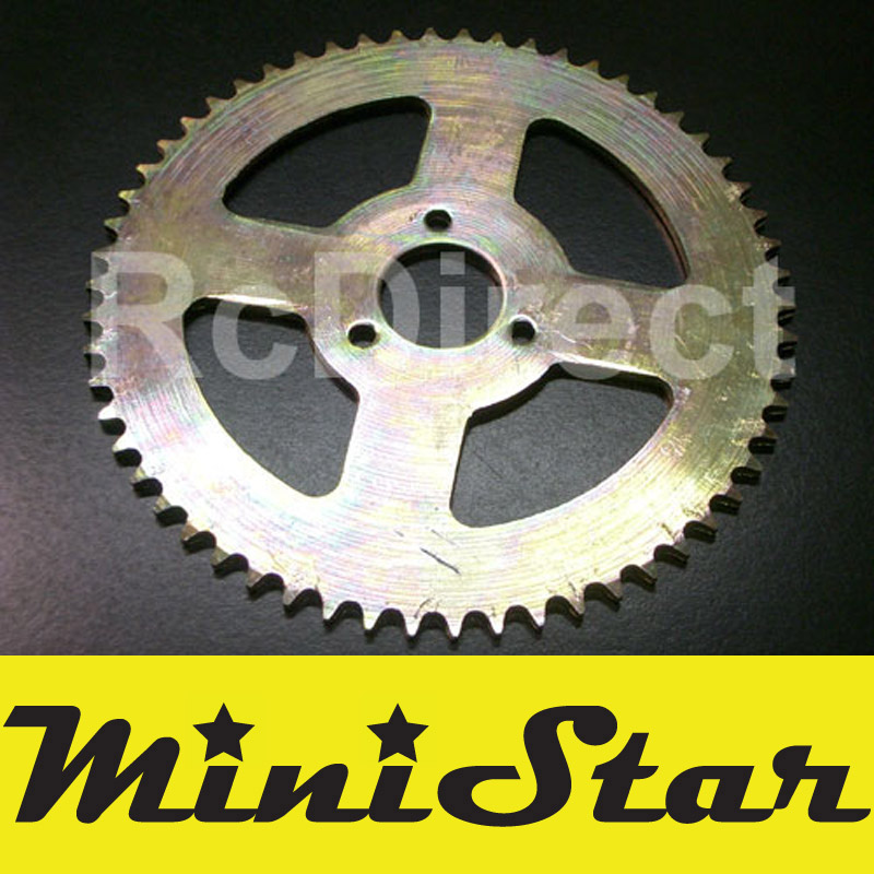 Sprocket 58T für MINICROSS