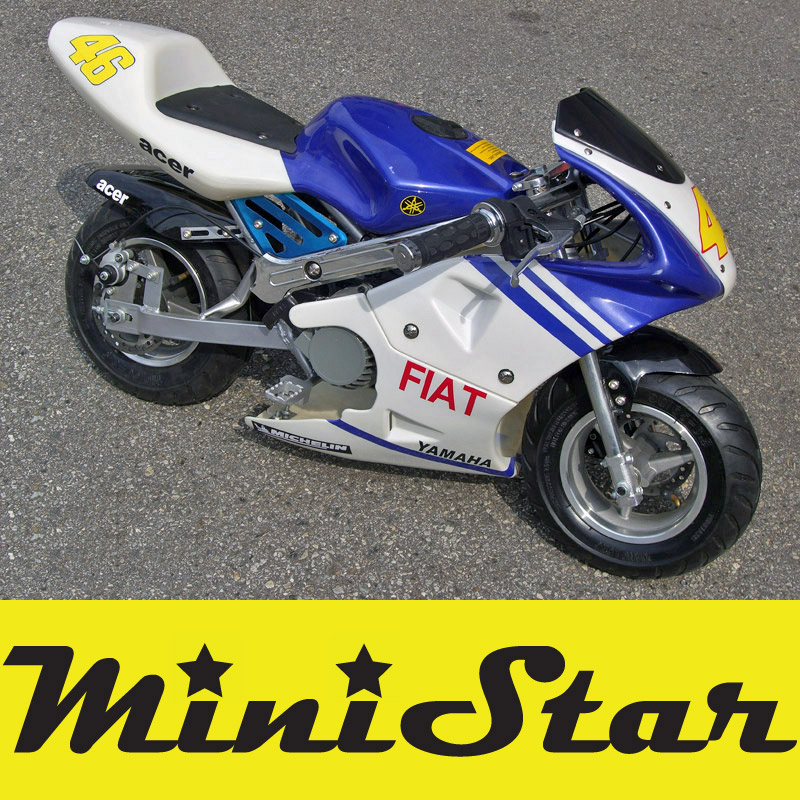 Minibike GP Pocket Bike 49cc FIAT - YAMAHA