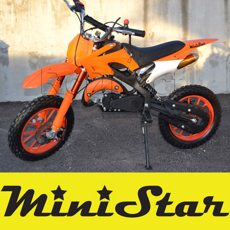 Minicross PRO Pocket Bike 49cc ORANGE