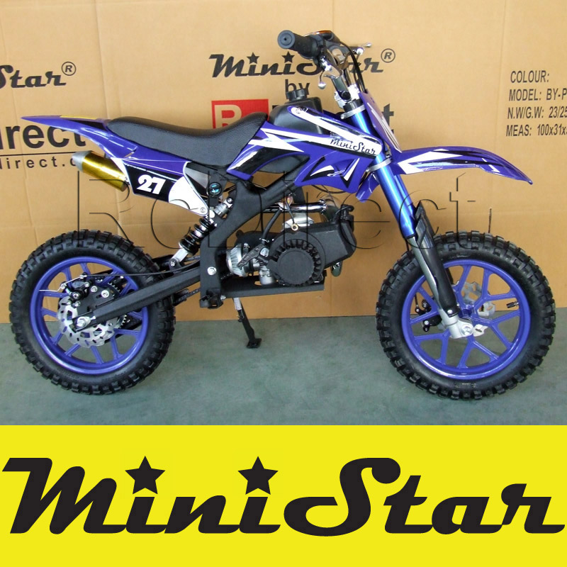 Minicross PRO Pocket Bike 49cc BLU