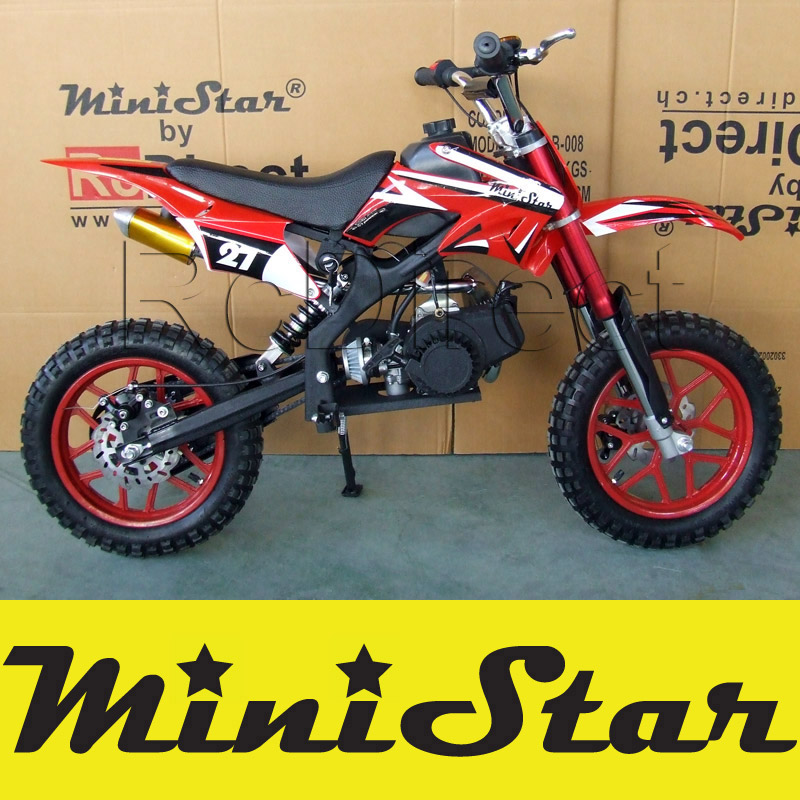 Minicross PRO Pocket Bike 49cc ROT